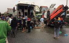 Vụ xe khách va chạm xe cứu hỏa: Thêm thông tin mới
