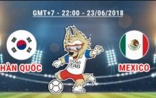 Dự đoán kết quả tỉ số trận Hàn Quốc vs Mexico 22h00 23/6: Trận đấu quan trọng của 2 đội