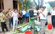 Nhà sáng chế Đinh Văn Giang: Đưa máy móc tới gần hơn với bà con chăn nuôi