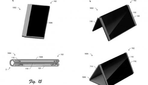 Microsoft có bằng sáng chế smartphone biến hình